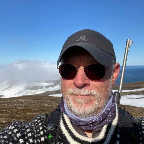 Svenn-Erik Høylie fant seg fort til rette på Svalbard - før eventyret gikk videre til den øde øya Hopen.