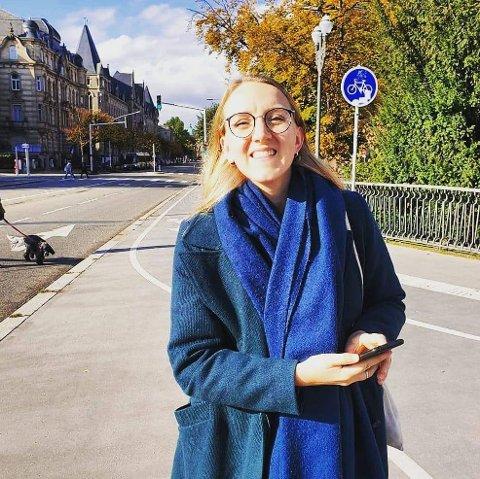Kvinnedagen: Anja (27) fra Brandbu har alltid hatt et forhold til kvinnedagen og engasjerer seg i flere sider ved likestilling.