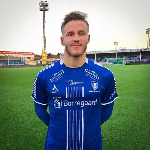 Alexander Ruud Tveter i drakta til sin nye klubb.