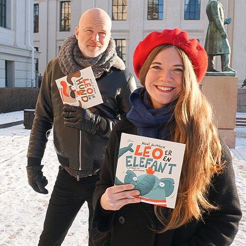 BARN OG  DYR: Barn leker ofte at de vil være et dyr. Det har resultert i et samarbeid mellom forfatteren Arne Svingen og illustratøren Jenny Jordahl fra Ski. De to første bøkene ble sluppet denne uken.
