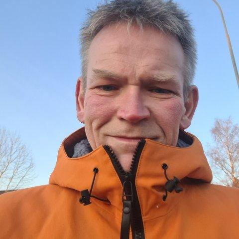 ANNERLEDES: Starten på dagen ble ikke helt som forventet for Helge Haugan.