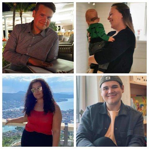 Superslankere: Erik, Madelen, Romina og Thomas var fire av deltakerne i The Biggest loser 2015. Nå, seks år senere, ser livet ganske annerledes ut.