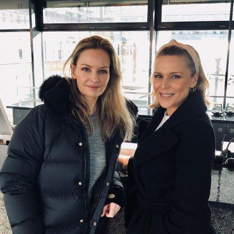 UFORGLEMMELIG: - Den badstuseansen med en russisk bademester på Farris Bad kommer vi aldri til å glemme, sier Synnøve Skarbø og Vanessa Rudjord.