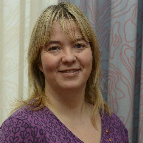 FORNØYD: Ordfører Bente Elin Lilleøkseth fant mye å glede seg over i den nye undersøkelsen. (Foto: Anita Høiby Gotehus)