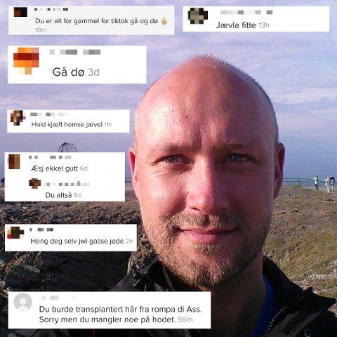 SIER IFRA: Jonas Andersen er ikke redd for å ta kontakt med foreldrene når han opplever at sønnen eller datteren kommer med hets på sosiale medier.
