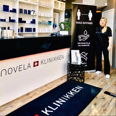 KARANTENE: Du må ha vært ti dager i  Norge etter utenlandsturen hvis du skal ha time hos Katja på Novelaklinikken.