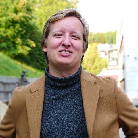LEILIGHETSKJØP: Etter 11 år som leietaker i Oslo har Robin Øverby endelig fått tak i sin egen leilighet.