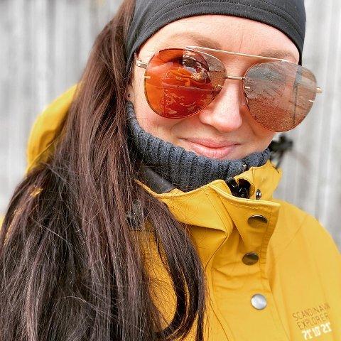 STERKE ORD: Tina Cecilie Blestad (30) beskriver i et åpenhjertig innlegg på sin egen Facebook-side, hvordan hun opplevde bilulykken på Kopparleden ved Drevsjø søndag.