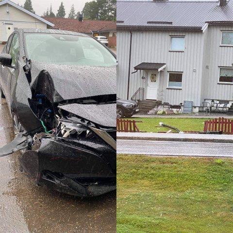 SVIMMEL: Kvinnen sa til politiet at hun ble svimmel rett før hun kjørte av vegen.
