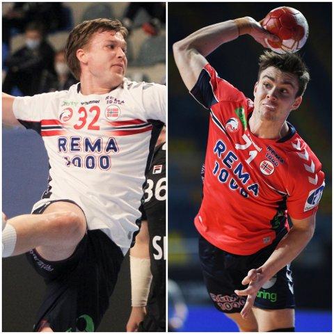 BLIR HJEMME: Christian Berge fant ikke plass til verken Thomas Solstad eller Alexander Blonz i OL-troppen.