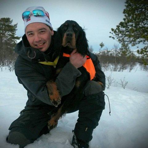 SIKKERHET: Karl - Petter Johansen mener det er viktig å ha fokus på sikker jakt.