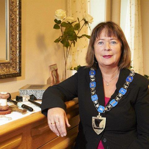 Avtroppende fylkesordfører Sonja Steen.