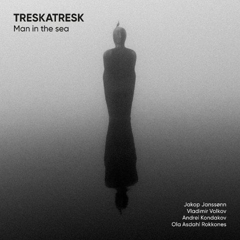 Platecover: Treskatresk lot seg inspirere av Havmannen da de gjorde coveret på sitt nye album.