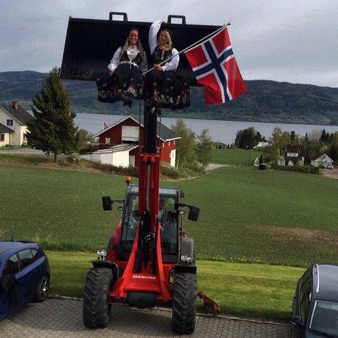 Lene Semmen og Silje Modalen svevde høyt på 17. mai.