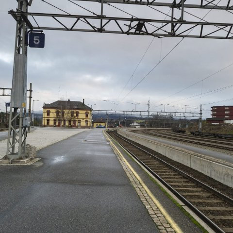 Ringerike Høyre vil at dagens stasjonsområde skal beholder og utvikles.
