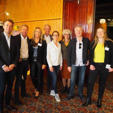 """Fagkunnskap: Legene roste filmen """"Blodig alvor"""". Her sammen med leder av Endometrioseforeningen, Gudveig Storhaug og Anja Stenslette."""