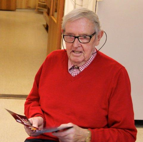 Morten Thorenius Bergersen sr. døde 84 år gammel.