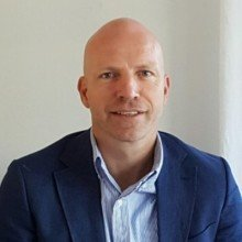 FORNØYD: Gunnar Glavin Nybø er administrerende direktør i Bygg Reis Deg AS.