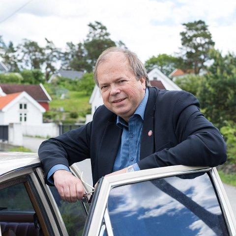 FERDIG: Trond Ellingsen trakk seg tirsdag som leder av Asker Frp.