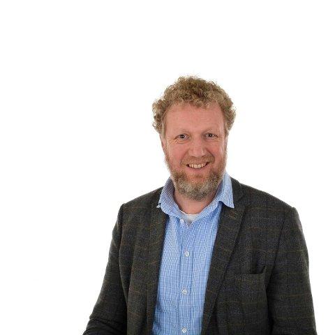 NY JOBB: Even Storebråten blir rektor ved Færder videregående skole.