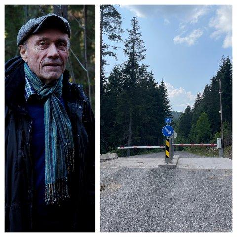 BOM TIL BÅDE INN- OG UTKJØRING VED VESTSKAUEN: Jan Erik Trondsen ble hørt, han ønsket seg en bom i begge retninger.