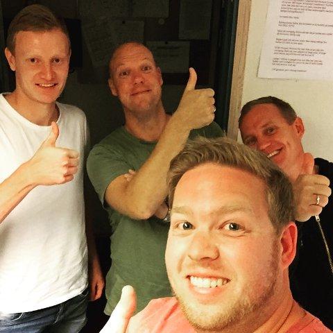 Christer Reppesgård Hansen er ukens gjest hos SF-Podden