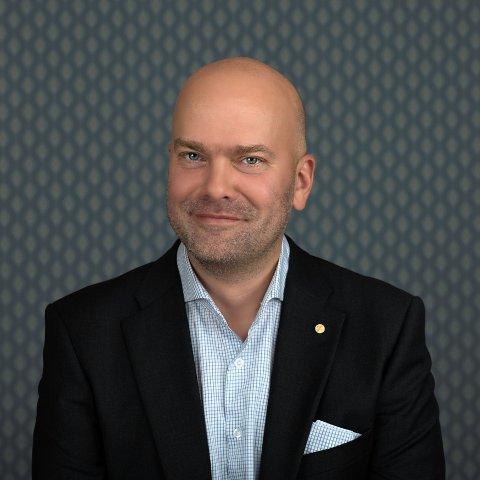 """KONSERNSJEF: Rickard Ternblom sier han er glad for at """"Oslofjord"""" er tilbake i drift."""