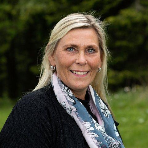 PÅ BESØK: Kristin Sæther kommer med et innlegg som skal kommenteres