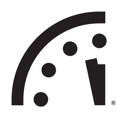 Dommedagsklokka til Atomic Scientists viser to minutter på tolv