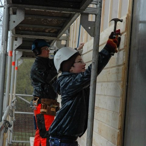 Lærling i tømrerfaget