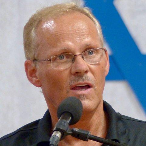Reisesekretær i Ordet & Israel, Gordon Tobiassen.