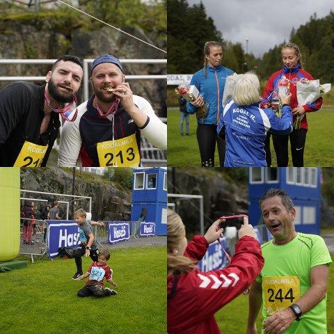 TILBAKE IGJEN: 4. september arrangeres årets utgave av Kodalmila, etter ett års «koronapause». Disse bildene er fra sist gang mosjonsløpet ble arrangert, i 2019.