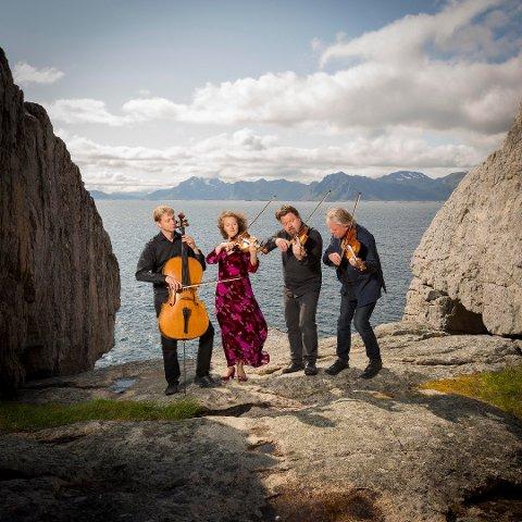 MINIFESTIVAL: På Hjertnes Kulturhus arrangeres det minifestival med kammermusikk fra 9. til 11. oktober. Engegårdkvartetten skal innlede helgen.