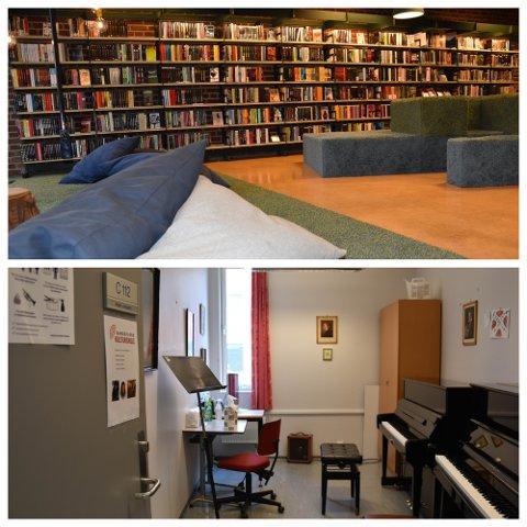 HVORDAN? Sandefjord kommune ønsker å involvere innbyggerne i tankene om et eventuelt nytt bibliotek i sentrum. Hvordan mener du at kombinasjonen bibliotek og kulturskole kan bli? FOTO: Vibeke Bjerkaas