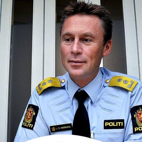 SJEF FOR NYTT DISTRIKT: Ifølge Dagbladet vil politimester Steven Hasseldal i Østfold bli utnevnt som politimester for nye Øst politidistrikt i statsråd på fredag.FOTO: JARL M. ANDERSEN