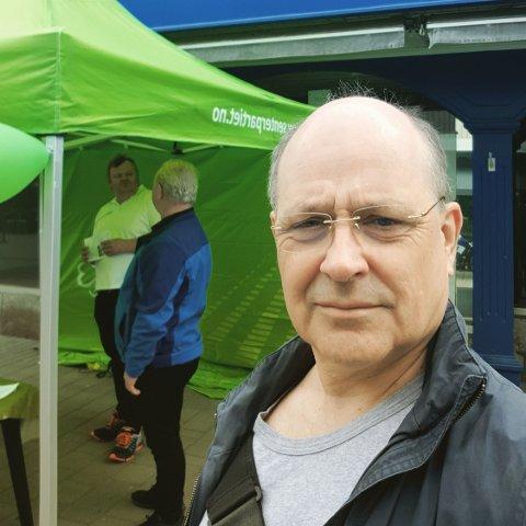 Arnstein Koch-Engebretsen, styremedlem og listekandidat for Sarpsborg Senterparti.