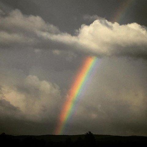 Sol og regn i vente – og kanskje samtidig.