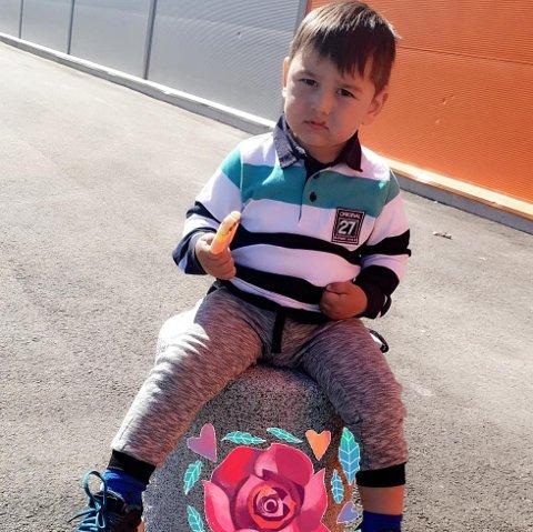 SAVNET: Gutten som forsvant fra hjemmet sitt i Tomter.