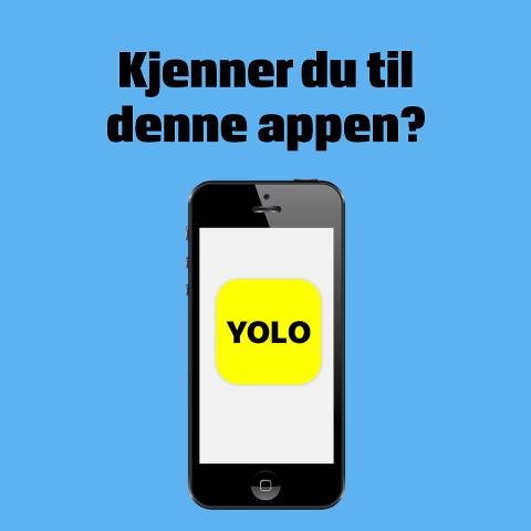Appen Yolo ble lansert 2. mai og har allerede over 5 millioner brukere. Politiets nettpatrulje advarer nå om bruken.