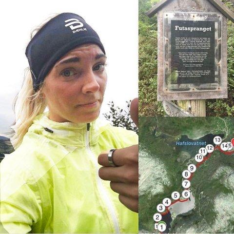 KLAR: Emma Werner Gustafsson tykkjer at ein maraton på 42 kilometer blir for lita utfordring no, etter denne romjulsrekorden.