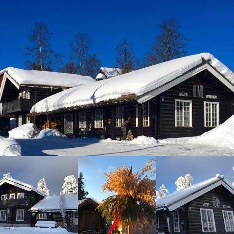 VAKKER BUTIKK: Interiør og gavebutikken Heimil er overtatt av Notodden-paret Hanne Kjersti Bugge Robertsen og Hans Bugge Andersen.