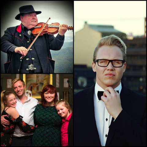 FØRJULSKONSERT: Kim Rune Hagen er klar med sin femte Stjernesludd-konsert i førjulstiden. I år med Knut Buen og familien Nordheim som gjester.