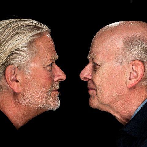 KONSERT: Iver Kleive og Sigmund Groven spiller sammen i Notodden kirke søndag 15. september.