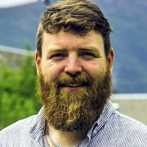 Sunndal: Andreas Gjerde Ulvund er lærer og gårdbruker i Sunndal.