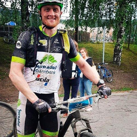 15: Håvard Gjeldnes fra Surnadal ble nummer 15 i Birkebeinerrittet lørdag.