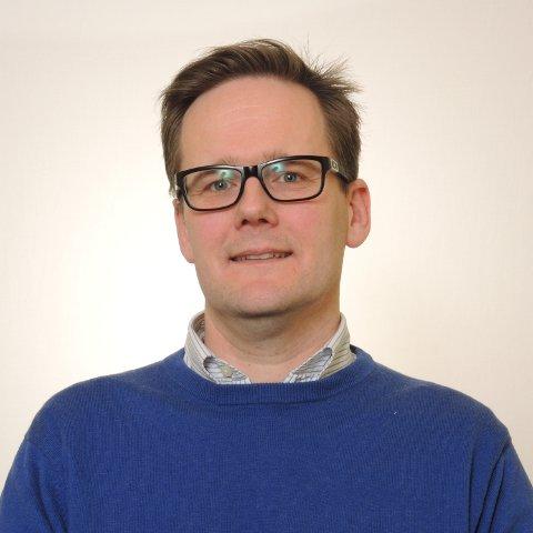 SPENT: Einar Hernborg hos Fylkesmannen sier han er spent på utviklingen med tanke på antall mobbesaker. Foto: Fylkesmannen i Møre og Romsdal