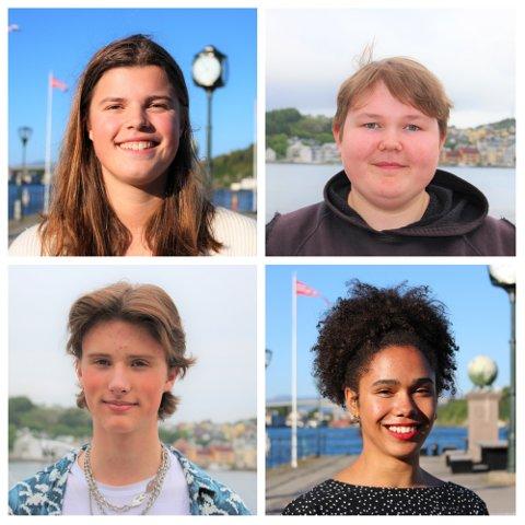 Fire ungdommer fra Nordmøre forteller om hvordan det er å vokse opp som skeiv.