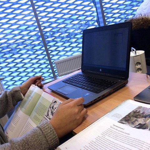 PC TIL UNGDOMSSKOLEN: Høyre går inn for at alle elevene på ungdomstrinnet i Tønsberg får PC.
