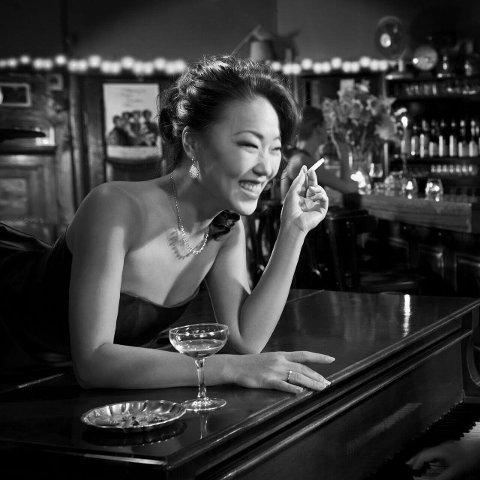 KLATRER INTERNASJONALT: Birgitte Soojin markerer seg som jazzsanger internasjonalt.