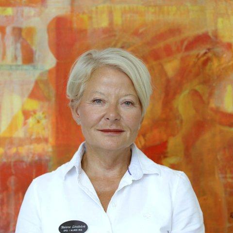 TOPPER LISTEN: Helene Birgit Linnea Lindbäck ved Atlas Medica i Tolvsrød.